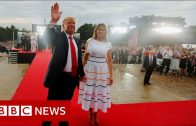 Trump-leads-Salute-to-America-celebration-BBC-News