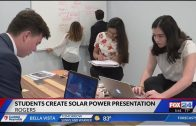 Local students are getting experience in the solar industry KFTA