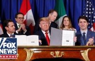 Trump signs US-Mexico-Canada trade agreement
