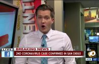 2nd coronavirus case confirmed in San Diego