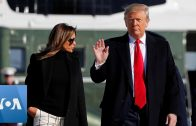President-Trump-and-Melania-Trump-Depart-for-India