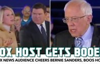 Fox News Audience Cheers Bernie Sanders, Boos Host